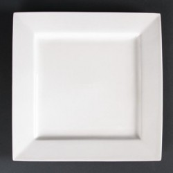 Lumina Fine China Square Plates 265mm