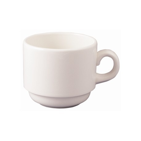 Dudson Classic Stackable Tea Cups 230ml