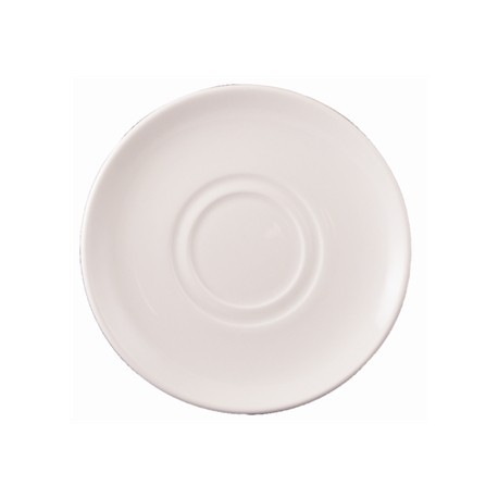 Dudson Classic Cafe Au Lait Saucers 178mm