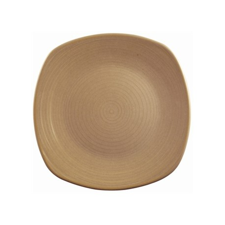 Dudson Evolution Sand Chefs Plates Square 260mm