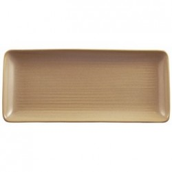 Dudson Evolution Sand Chefs Trays Rectangular 214x 96mm
