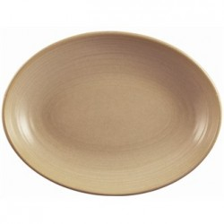 Dudson Evolution Sand Deep Oval Bowls 267mm