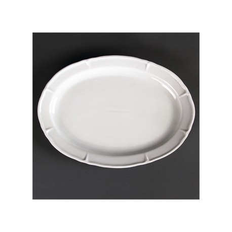 Olympia Rosa Oval Plates 295x 214mm