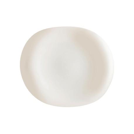Arcoroc Zenix Tendency Organic Shape Oval Plates 310mm
