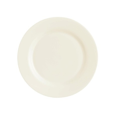 Arcoroc Zenix Intensity Wide Rim Plates 255mm