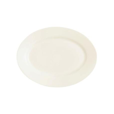 Arcoroc Zenix Intensity Wide Rim Oval Platters 350mm