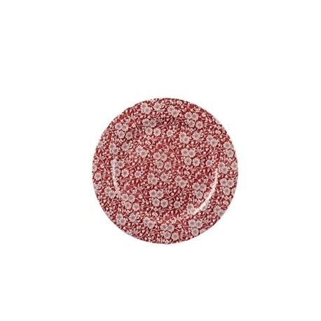 Churchill Vintage Prints Plates Cranberry Rose Print 305mm