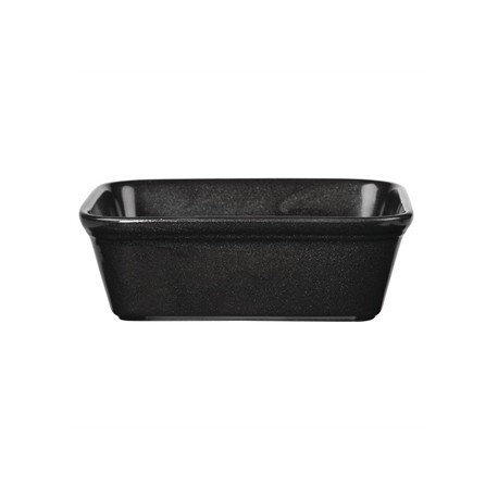 Churchill Cookware Black Rectangular Dishes 160x 120mm