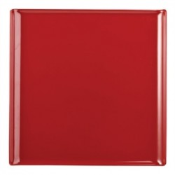 Alchemy Buffet Red Melamine Square Trays 303mm