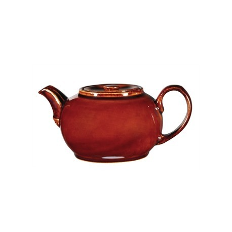 Churchill Rustics Brown Nova Teapots 420ml