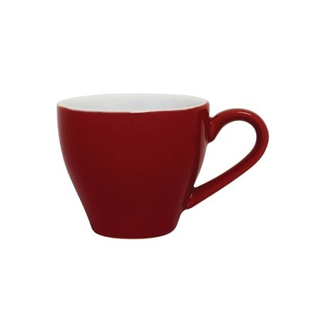Olympia Cafe Espresso Cups Red 100ml 3.5oz