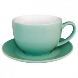 Olympia Cafe Cappuccino Cups Aqua 340ml 12oz