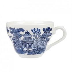 Churchill Vintage Prints Willow Georgian Teacup Blue 200ml