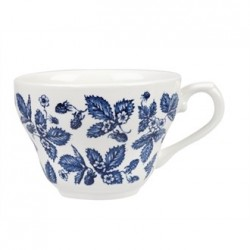 Churchill Vintage Prints Georgian Teacup Blue 200ml