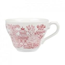 Churchill Vintage Prints Willow Georgian Teacup Cranberry 200ml