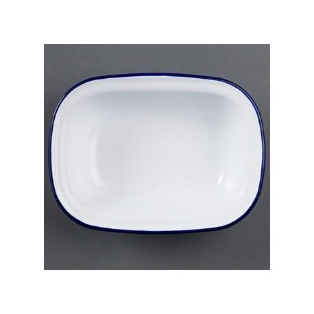 Olympia Enamel Dish Rectangular 280 x 190mm