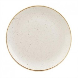 Churchill Stonecast Barley Coupe Plate White 288mm