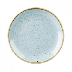 Churchill Stonecast Soft Coupe Plate Duck Egg 288mm