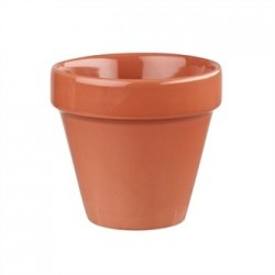 Churchill Bit On The Side Plant Pot Paprika 17oz