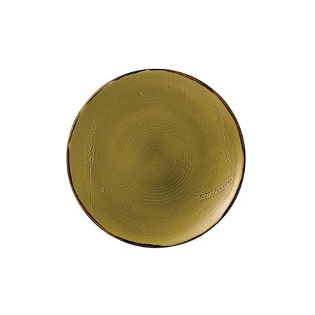 Dudson Harvest Plate Green 162mm