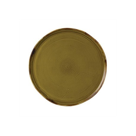 Dudson Harvest Plate Green 230mm
