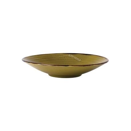Dudson Harvest Deep Plate Green 270mm