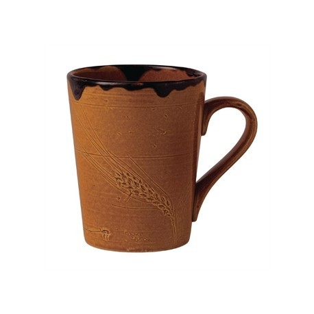 Dudson Harvest Mug Brown 340ml