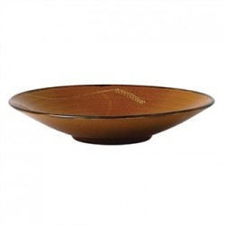 Dudson Harvest Deep Plate Brown 270mm