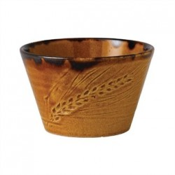 Dudson Harvest Dip Pot Brown 76mm