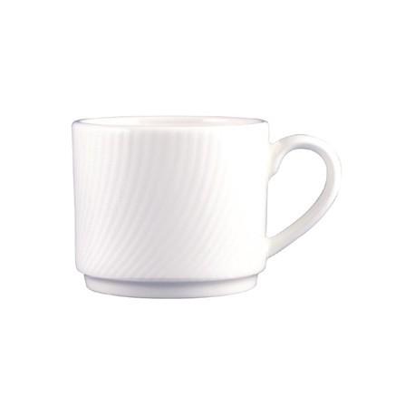 Dudson Twist Teacup White 200ml