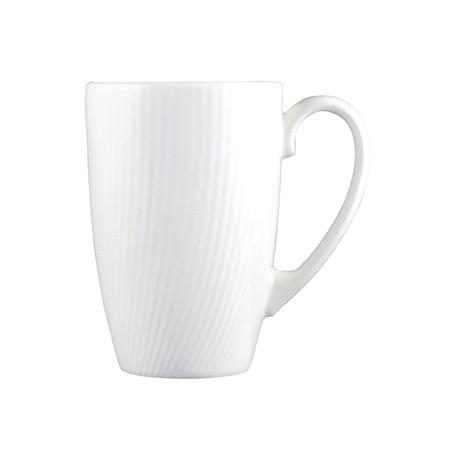 Dudson Twist Mug White 280ml