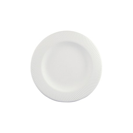 Dudson Twist Plate White 203mm