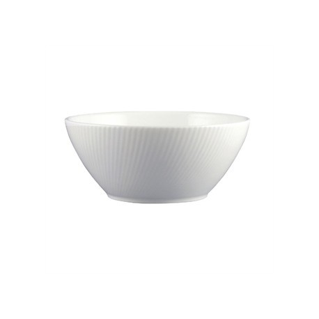 Dudson Twist Oatmeal Bowl White 165mm