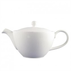 Dudson Twist Teapot White 380ml