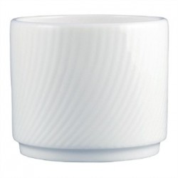 Dudson Twist Sugar Bowl White 200ml