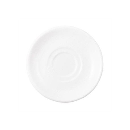 Dudson Neo After Dinner Saucer White 130mm