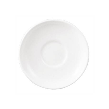 Dudson Classic White After Dinner Saucer