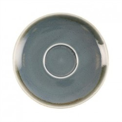 Olympia Kiln Cappuccino Saucer Ocean 140mm