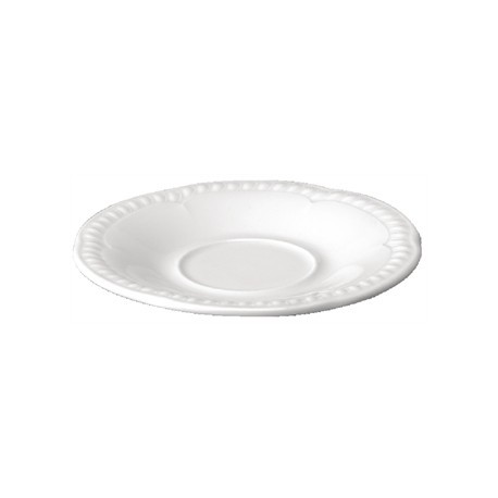 Churchill Buckingham White Saucers 133mm
