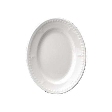 Churchill Buckingham White Oval Platters