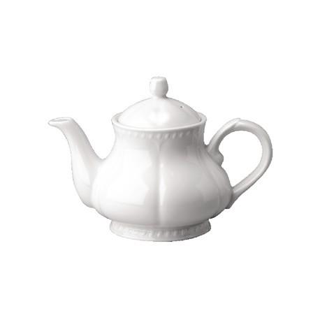 Churchill Buckingham White Teapots 1.13Ltr