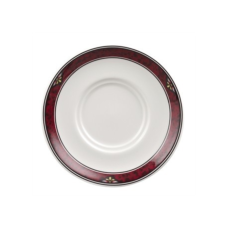 Churchill Milan Maple Saucers 127mm