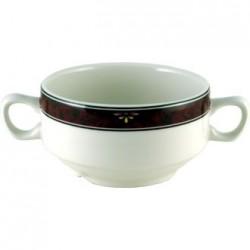 Churchill Milan Handled Soup Bowls 398ml
