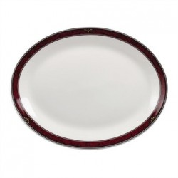 Churchill Milan Oval Platters 254mm