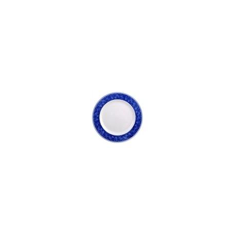 Churchill New Horizons Marble Border Classic Plates Blue 280mm