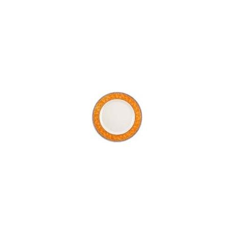 Churchill New Horizons Marble Border Classic Plates Orange 165mm
