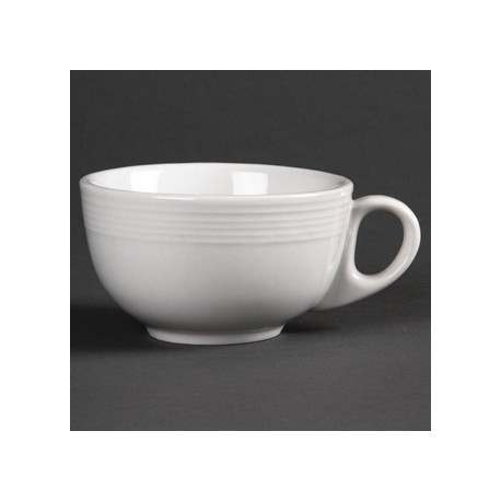 Olympia Linear Cappuccino Cups 212ml 7.5oz