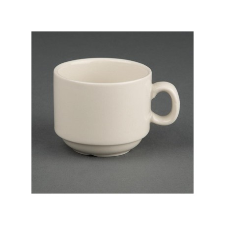 Olympia Ivory Stacking Espresso Cups 82ml 3oz