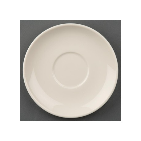 Olympia Ivory Stacking Saucers