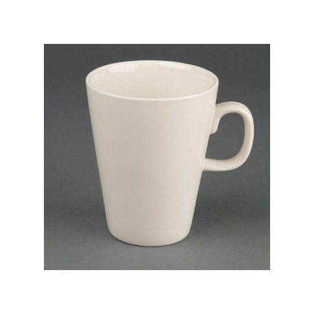 Olympia Ivory Latte Mugs 284ml 10oz